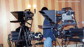 Double Camera Mount teleprompter - Infomercial