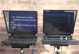 DayBrite Camera Mount teleprompter