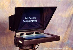 camera mount teleprompter