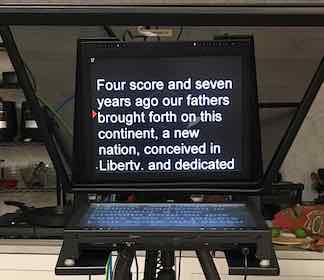 Trapezoid Camera Mount teleprompter